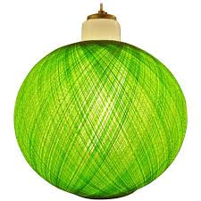 Green Glass Pendant Light Vanity Green Mcm Spun Fiberglass And Milk Glass Pendant Light