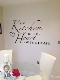 Liverpool Wall Stickers The Kitchen Is The Heart Of The Home