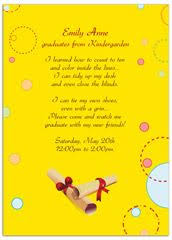 free kindergarten graduation invitation template google search