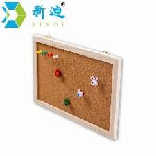 Cork Board Decorative Frame Free Accessories Rose Framed Push Pin Board 60 45cm Factory Direct