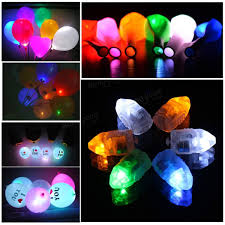 decorative led lights for homes 10pcs led balloon lights lamps paper lanterns lamp home wedding