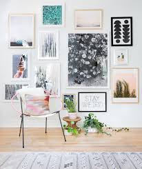 How To Design A Gallery Wall by How To Create A Gallery Wall Without Hammer And Nails Offices