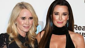 kyle richards needs to cut her hair richards explains why kim richards won t be on real housewives of