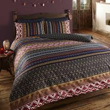 patterned duvet covers the range