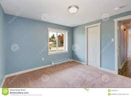 light blue bedroom with closets stock photo image 45626750