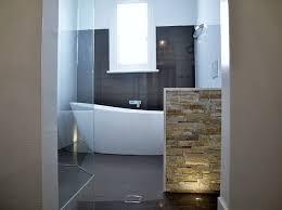 bathroom feature wall ideas freestanding bath feature wall floor lighting contemporary