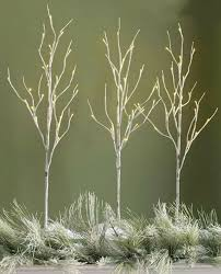 pre lit branches 39 inch lighted birch branches 3 branches 96 led s buy now