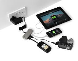powertraveller spidermonkey 4 port usb charger hub amazon co uk