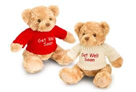 get well soon teddy get well soon teddy with jumper 1004 006 gifts ie