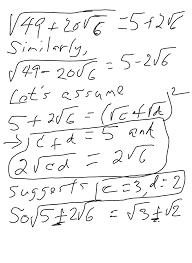 mathnotations a radical departure an algebra 2 ccssm math 2