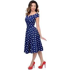 12 best navy blue polka dot dress images on pinterest