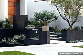 contemporary landscaping contemporary landscape design front yard formal landscape and
