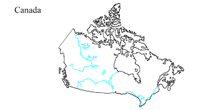 Map Of Us And Canada Map Of Canada You Can See A Map Of Many Places On The List On