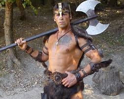 Barbarian Halloween Costume Barbarian Costume Etsy