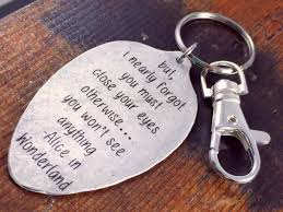 inspirational keychains in keychain but i nearly forgot you must