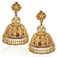 earrings in grt guide to indian temple jewellery temple india and gold