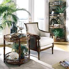 bureau style colonial deco style colonial open interior with furniture and decoration