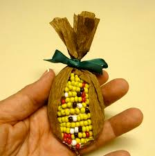 make it easy crafts recycled brown bag indian corn pin