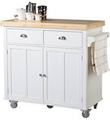 meryland white modern kitchen island cart baxton studio meryland white modern kitchen island