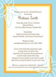 honeymoon fund bridal shower honeymoon fund invitation insert showers weddings