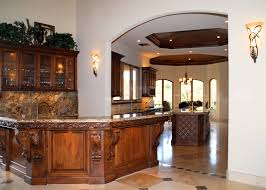 different types of bar countertop materials