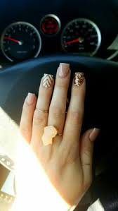 35 nail designs that are so perfect for fall gold glitter gold