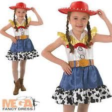 Kids Cowgirl Halloween Costume Jessie Hat Toy Story Girls Fancy Dress Kids Cowgirl Disney