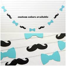 mustache and bow tie baby shower bow tie mustache garland baby boy garland mustache banner