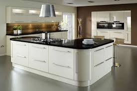kitchen central island vico alabaster gloss kitchen hugel designer kitchens bedrooms