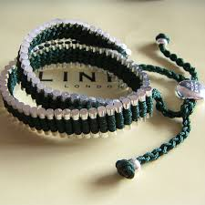 friendship bracelet links images Links of london friendship bracelet pewter green double wrap jpg