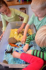Toddler Sensory Table by 90 Best Centers Sensory Bins Images On Pinterest Sensory Play
