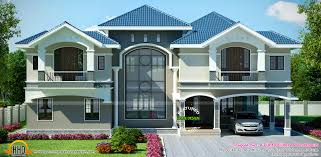 luxury house in beautiful style kerala home design and floor plans