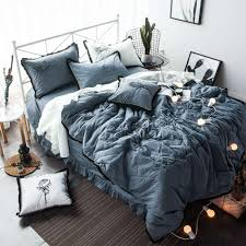 Blue Bed Set Online Get Cheap Blue Black Bedding Aliexpress Com Alibaba Group
