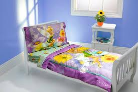 Purple Toddler Bedding Set Purple Yellow Garden Tinker Bell Themed Toddler Bedding Set For