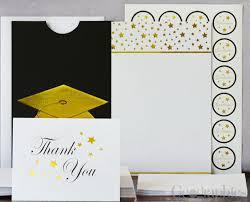 graduation cap invitations graduation stationery diy cards invitations geographics