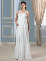 pregnancy wedding dresses pregnancy empire waist beading chiffon maternity wedding dress