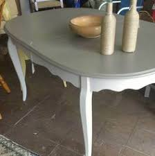 white and gray dining table dining table 2 reveal dining room table chalk paint and linens