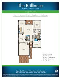 Lennar Homes Floor Plans by Copper Creek Classic Collection Edward Gale Bhhs Florida Realty