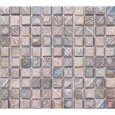 tile sheets for kitchen backsplash ceramic mosaic tile sheets arabesque patterns kitchen backsplash