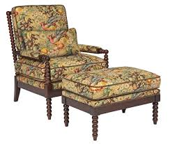 Thomas Kincaid Bedroom Furniture Kincaid Furniture Accent Chairs Jenny Chair And Ottoman With Spool