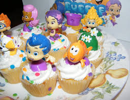 guppies cake toppers nickelodeon guppies deluxe figure set of 10