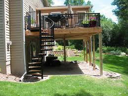 Exterior Stair Handrail Kits Decorating Your Home Exterior More Beautiful With Wrought Iron