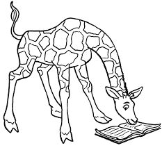cute giraffe coloring pages little ba elephant colouring page