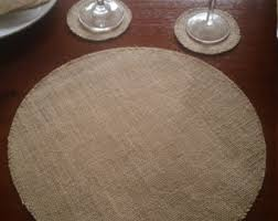 Placemats For Round Table Placemat Etsy