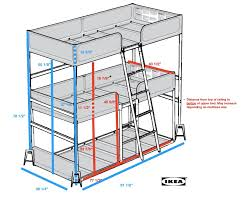 triple bunk bed diy ikea hackers ikea hackers