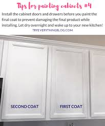 tips for painting cabinets the fastest way to paint kitchen cabinets with the best results 4