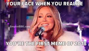 Mariah Meme - mariah carey hot tea new years meme top 10 empire bbk