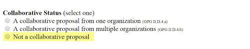 One Organization Form Preparation Nsf Sbir