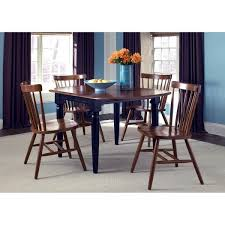 Black Drop Leaf Kitchen Table by Creations Ii Tobacco And Black Drop Leaf Dining Table Brown