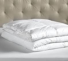 Types Of Down Comforters Hydrocool Ultra Plush Down Alternative Duvet Insert Pottery Barn